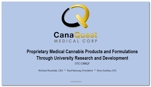 Presentation Front Page Canaquest